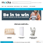 Win 1 of 3 'Welcome to The World' Baby Prize Packs Worth $578 Each from Mocka