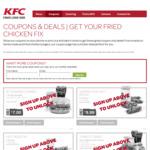 $7 Zinger Combo @ KFC