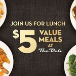 Purchase Lunch Meal for $5 (Worth up to $14.90) and Get Free All Day Parking @ SKYCITY