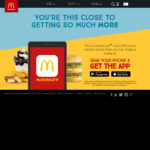 Free Small Drink and Fries with Purchase of Kiwi Angus Burger @ McDonald's via App