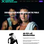 Subsidised Gym Memberships 40-70% off Regular Joining Fee @ ExerciseNZ