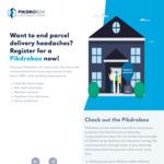 Pre Order: PikdroBox Parcel Delivery Mailbox $175 (Save 50%) @ Pikdro