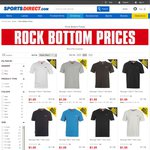 Slazenger Junior and Mens Tops or Shorts $1 Each + $10 Shipping @ Sports Direct