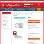 Belkin WeMo LED Lightbulb Starter Kit Bayonet $77 @ Heathcote Appliances