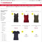 The Warehouse - Summer Clothing Clearance - Prices from $1.23 to $9.74