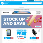 Warehouse Stationery - Spend & Save ($50 Save $10, $100 Save $25)