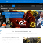 PS Plus Open Multiplayer Event