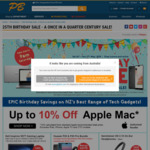10% off Mac, GoPro Hero6 Black $559 + More @ PB Tech Birthday Sale