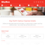 15% off Sk Bus North Harbour @ SkyBus