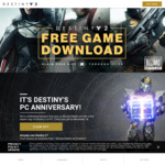 Destiny 2 FREE @ battle.net
