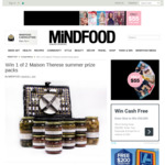 Win 1 of 2 Maison Therese Summer Prize Packs (Worth $160) from Mindfood