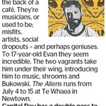 Win a Double Pass to The Aliens from The Dominion Post (Wellington)