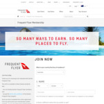 Free Qantas Frequent Flyer Membership for NZ residents