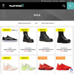 Up to 70% off Sale (Last Sizes) + $10 Shipping (Free over $140) or Click & Collect @ Platypus Shoes