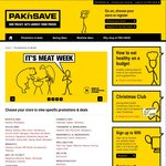 Pak N Save Meat Week - Deals Vary between Stores