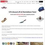 10% OFF All Marshalltown Trade Tools All April @ BestTradeTools.co.nz