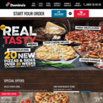 $5.99 Traditional Pizzas @ Domino's (2-5PM Today Only)