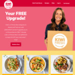 Free Upgrade on Your Next Kiwi Fresh Order by QMasterCard
