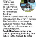 Win a Racing Prize Pack + 4 Tickets to the Interislander Summer Festival from The Dominion Post