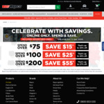 Spend $75 Save $15, Spend $100 Save $25, Spend $200 Save $55 @ Repco