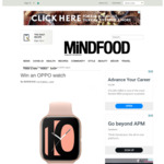 Win a 41mm OPPO Watch (Worth $399) from Mindfood