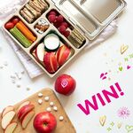 Win a PlanetBox Stainless Steel Lunchbox + 1kg of Apples from Pink Lady Apples