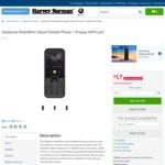 $17 Vodafone MobiWire Sakari Mobile Phone @ Harvey Norman