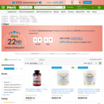 22% off Collagen Products @ iHerb