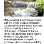 Win a Family Pass to Staglands from The Dominion Post