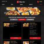 Free Pepperoni Pizza with All Delivery Deals @ Pizza Hut