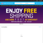 Free Shipping @ NZ Game Shop