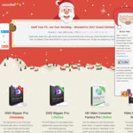 WonderFox 2017 Grand Christmas Party - Total 13 Free ($0) Software