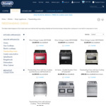 Up to 50% off DeLonghi Free Standing Ovens with Free Delivery
