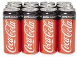 12 Pack of Coke Zero Sugar Cans (320ml) for $5 from The Warehouse
