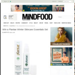 Win a Plantae Winter Skincare Essentials Set from Mindfood
