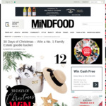Win a No. 1 Family Estate goodie bucket (Worth $270) from Mindfood
