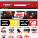 Supercheap Auto - Spend $100 Get $20 Back and More
