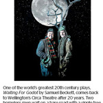 Win a Double Pass to Waiting For Godot by Samuel Beckett from The Dominion Post (Wellington)