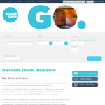 10% off Travel Insurance at Worldcare.co.nz