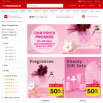 Buy 1 Get 1 Half Price - Mix & Match - Fragrances and Beauty Gift Sets @ The Warehouse