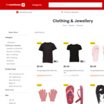 Extra 50% off Clearance Clothing at The Warehouse (Kids Tees from $0.48, Adults Crew Neck Tees $1.48)