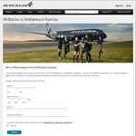 Win a VIP package to the All Blacks in Sydney (Air NZ Airpoints Members)