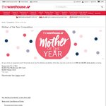 Win a 1 Year Subscription to Bargain Box, $2000 Warehouse Card, + $2000 Prezzy Card for Your Mum from The Warehouse