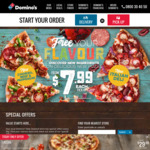 """New Yorker Pizza (16"""") $14.99 Pickup or $19.99 Delivered (Min Delivery $22) @ Domino's"""