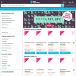 Extra 10% off Selected Best Sellers @ Book Depository