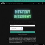 Mystery Discount 20-100% off @ Halleinstein Brothers
