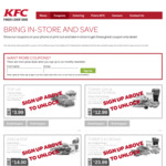 New Coupons @KFC Tomayoh Burger, 6 Chicken Nuggets, Reg Chips and Drink $12.99