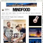 Win 1 of 6 NZ Rugby Stars Cookbooks from Mindfood