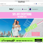 45-55% off sitewide @ Boohoo