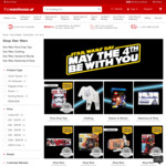 Warehouse: May The 4th Star Wars Sale: Stormtrooper Mask - $20, Lightsaber - $30 + More